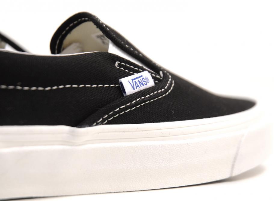 805543f3c5 Vans Vault OG Classic Slip On LX Canvas Black   Soldes   Novoid Plus